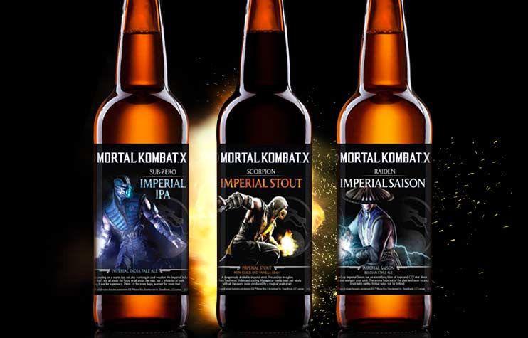 Päivän kuva: Mortal Kombat -olut – perseet olalle ja sitten turpaan?
