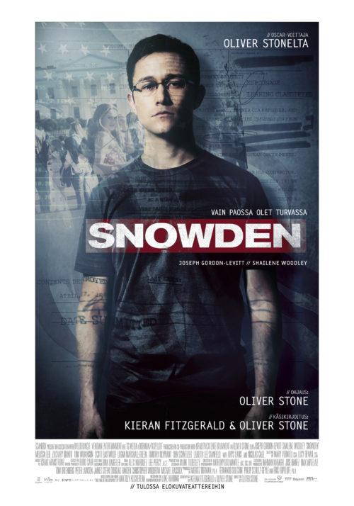 Arvostelu: Snowden on parasta Oliver Stonea vuosikausiin