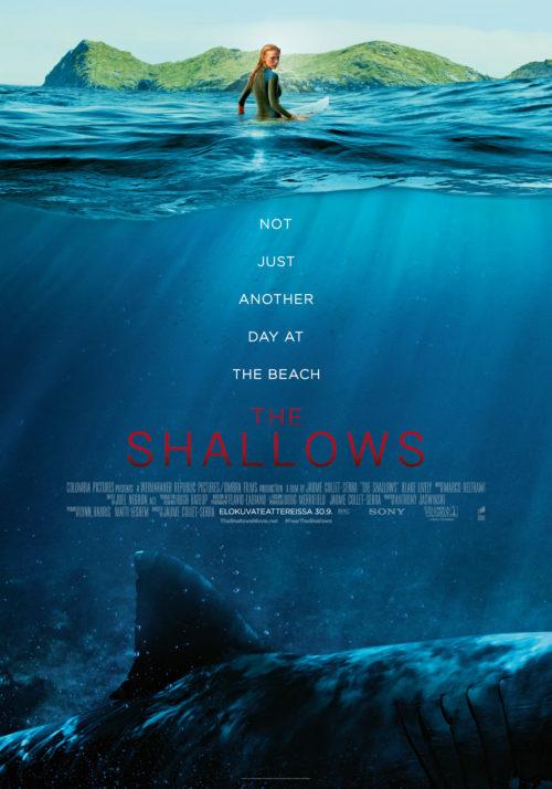 Arvostelu: Haitrilleri The Shallows on 86 minuuttia pitkä hajuvesimainos