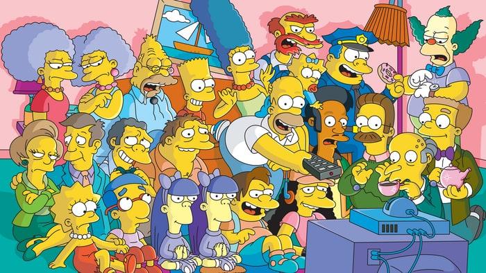 Päivän kuva: Simpsoneiden puheliain sivuhahmo tunnetaan yhden sanan hokemasta