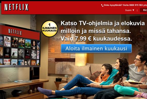 Netflix suomessa