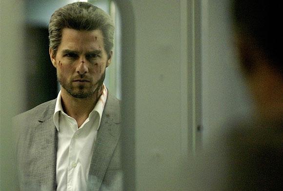 Illan elokuvassa hopeahapsinen Tom Cruise lahtaa ihmisiä Los Angelesin yössä   Dome